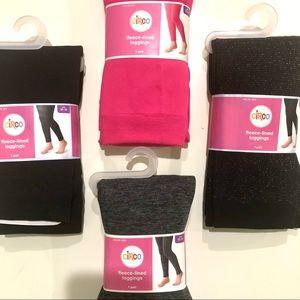 Fleece lined leggings bundle